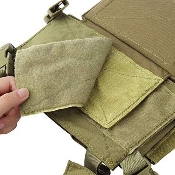 OAREA Airsoft Tactical Vest 7 OAREA Hunting Tactical Vest Magazine Pouch Modular Chest Rig Set Drop Pouch 3PCS Mag Insert Set