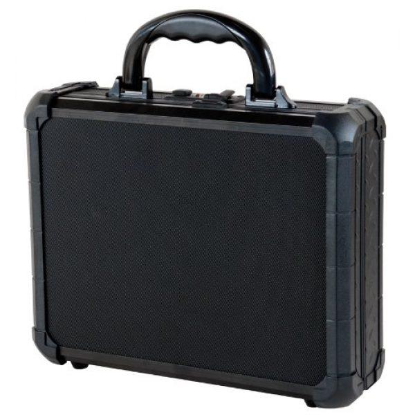 T.Z. Case International Pistol Case 1 T.Z. Case International TZM0011 BD 12 x 9 1/2 x 3 1/2-Inch Single Pistol Case, Black Dot Finish