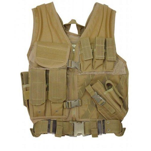 VooDoo Tactical Airsoft Tactical Vest 1 Voodoo Tactical MSP-06 Entry Assault Vest Tactical Commandos, Swat