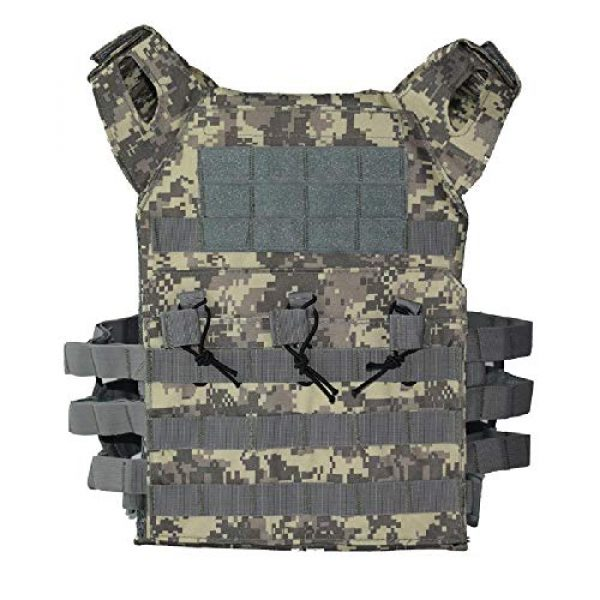 BGJ Airsoft Tactical Vest 3 BGJ Men Hunting Airsoft Paintball Sport Protective Vest Tactical Plate Carry JPC Vest Camoufalge Military Army Molle Carrier Vest