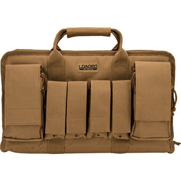 BARSKA Pistol Case 2 BARSKA Loaded Gear RX-50 Tactical Pistol Bag, 16-Inch
