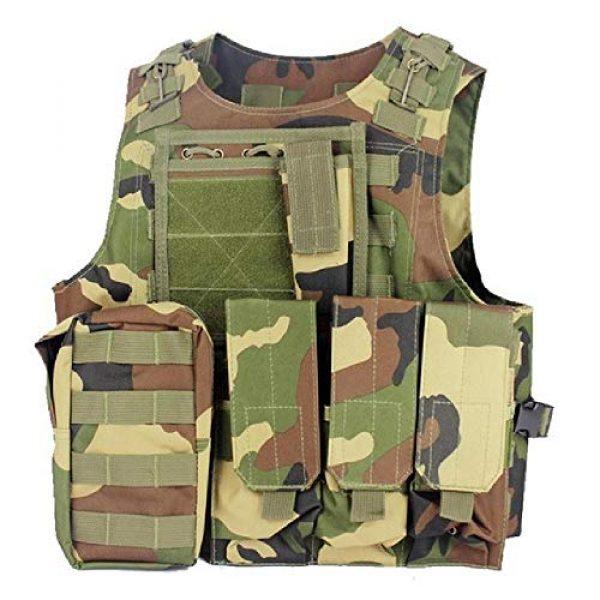 BGJ Airsoft Tactical Vest 1 BGJ Airsoft Military Shooting Vest Molle Waistcoat Armor Hunting Vest Tactical Combat Gear Wargame CS Protective Vests