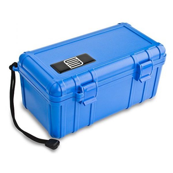S3 Waterproof Cell Case 2 S3 Cell Carrying Case with Foam Liner for Universal - Non-Retail Packaging - Blue