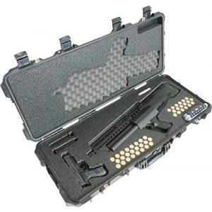Case Club Rifle Case 1 Case Club IWI Tavor TS12 Shotgun Pre-Cut Waterproof Case with Silica Gel to Help Prevent Gun Rust