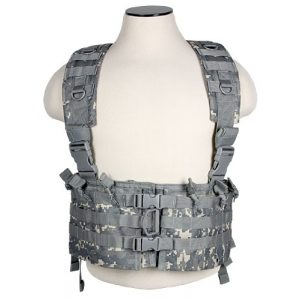 NcSTAR Airsoft Tactical Vest 1 NcStar AR Tactical Chest Rig ACU Digital Camo - Military/Airsoft