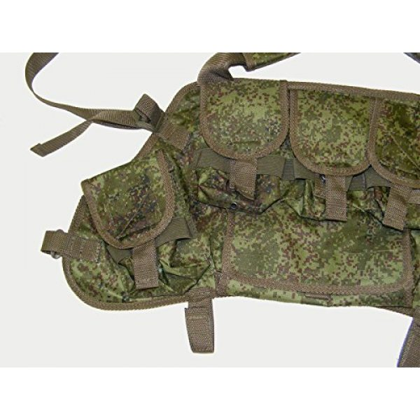 """Azimut SS Airsoft Tactical Vest 2 Russian Military SVD Dragunov Chestrig Vest """"Chameleon"""" by Azimut SS"""