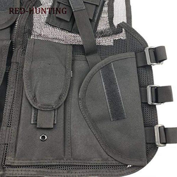 Shefure Airsoft Tactical Vest 5 Shefure New Adjustable Tactical Combat Training Vest Lightweight Mesh Tactical Breathable Vest Black