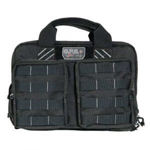 G.P.S. Pistol Case 1 G.P.S. Tactical Quad Plus 2 Pistol Case