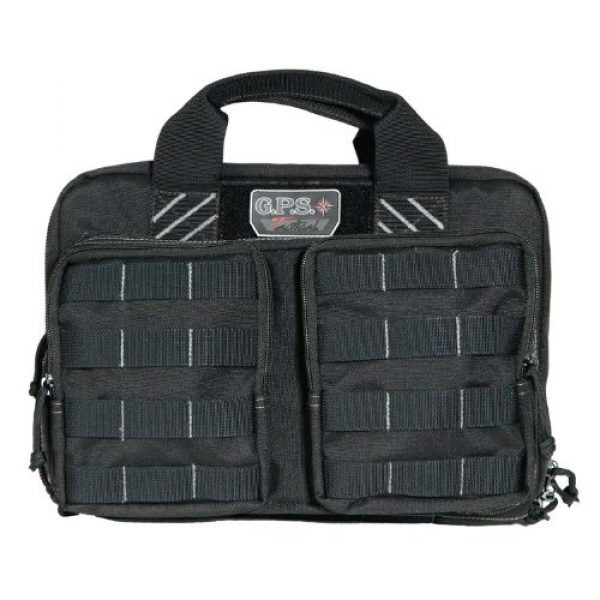 G.P.S. Pistol Case 1 G.P.S. Tactical Quad Plus 2 Pistol Case