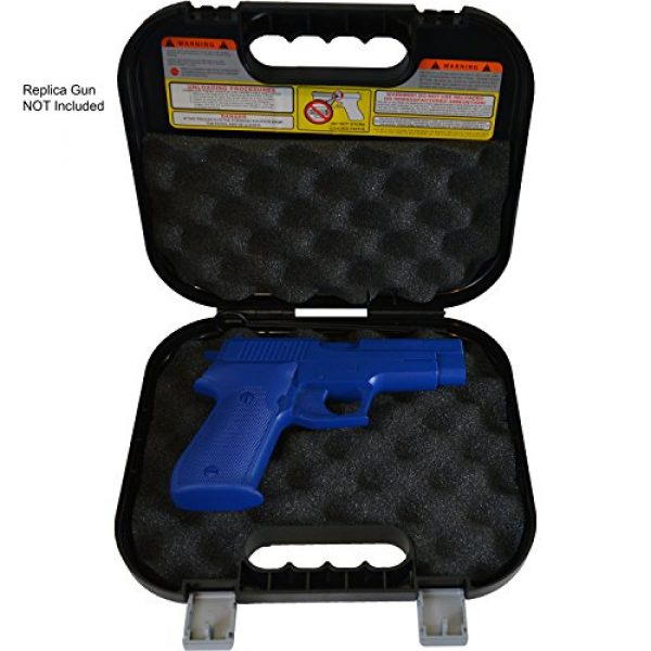 Glock Pistol Case 2 Glock Hard Gun Case New Version w/Brush and Rod