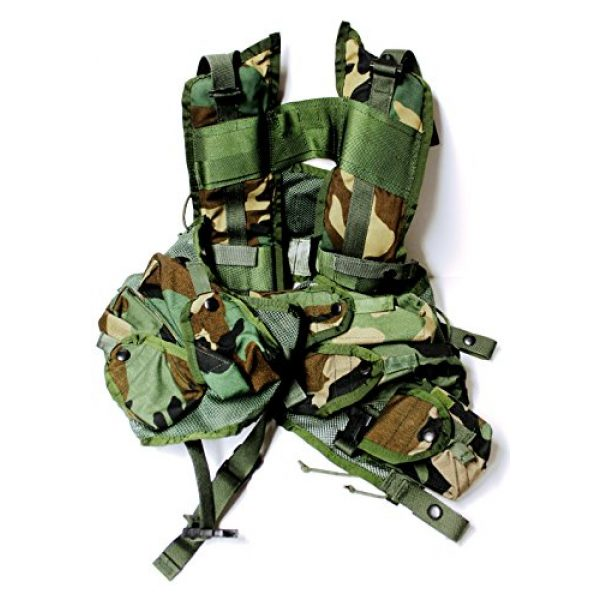 Reyes Industries, inc. Airsoft Tactical Vest 1 Reyes Industries, inc. US Military Enhanced Tactical Load Bearing Vest