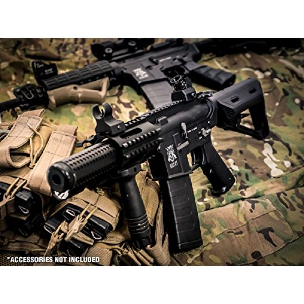 Black Ops Airsoft Rifle 7 Black Ops SR4 CQB AEG Rifle - Electric Fully Automatic Airsoft Gun - .20 .25 BBS