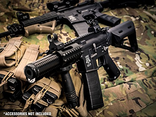 Black Ops  7 Black Ops SR4 CQB AEG Rifle - Electric Fully Automatic Airsoft Gun - .20 .25 BBS