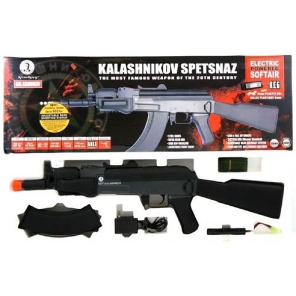 KALASHNIKOV Airsoft Rifle 6 Soft Air Kalishnikov Spetsnaz Electric Powered Airsoft Rifle