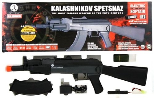 KALASHNIKOV  6 Soft Air Kalishnikov Spetsnaz Electric Powered Airsoft Rifle