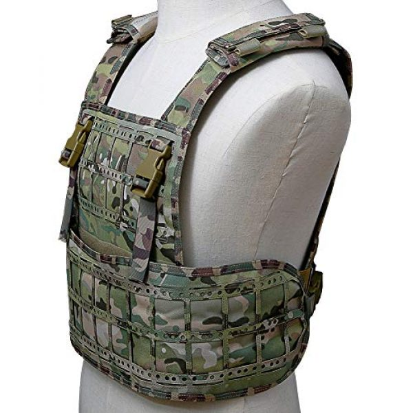 BGJ Airsoft Tactical Vest 7 BGJ Airsoft Vest Tactical Vest Hunting Protection Military Molle Vest Adjustable Army Armor