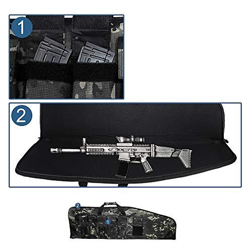 Warriors Product  2 Warriors Product 38 42 Inch Tactical Rifle Case Rifle Bag Long Single Gun Case