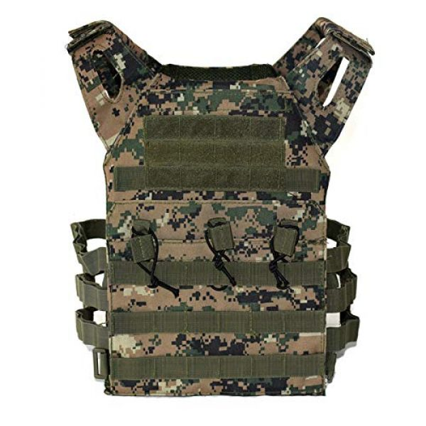 BGJ Airsoft Tactical Vest 2 BGJ Men Hunting Airsoft Paintball Sport Protective Vest Tactical Plate Carry JPC Vest Camoufalge Military Army Molle Carrier Vest
