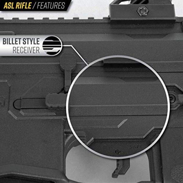 Valken Airsoft Rifle 4 Valken ASL Hi-Velocity M4 Airsoft Rifle AEG 6mm Rifle (Tango)