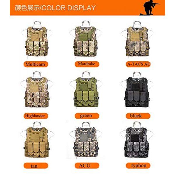 BGJ Airsoft Tactical Vest 3 BGJ Airsoft Military Shooting Vest Molle Waistcoat Armor Hunting Vest Tactical Combat Gear Wargame CS Protective Vests