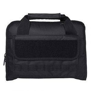 Bmsing Pistol Case 1 Tactical Double Soft Pistol Case Pistol Range Bag