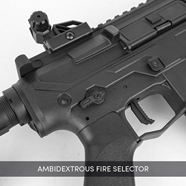Valken Airsoft Rifle 3 Valken ASL MOD-M AEG M4 6mm Airsoft Rifle - Black