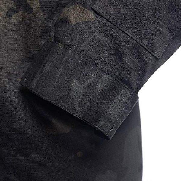 AKARMY Tactical Shirt 4 Unisex Lightweight Military Camo Tactical Camo Hunting Combat BDU Uniform Army Suit Set