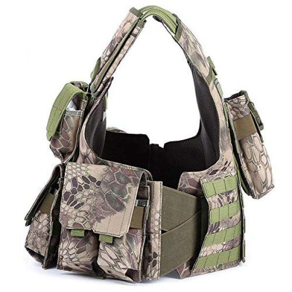 SHENGCUNZHE Airsoft Tactical Vest 5 SHENGCUNZHE Outdoor Tactical Vest