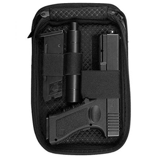 LIVIQILY Pistol Case 2 LIVIQILY Concealed Carry Pistol Cases Outdoor Tactical Holster Fanny Pack Gun Pouch Waist Pocket Hip Belt Bag Wallet for Handgun