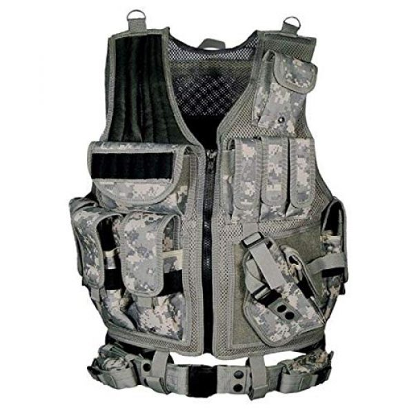 BGJ Airsoft Tactical Vest 5 BGJ Tactical Vest Military Combat Army Armor Vests Molle Airsoft Plate Carrier Swat Vest Outdoor Hunting Fishing CS Training Vest