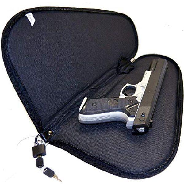 Explorer Pistol Case 4 Explorer Lock+Key Pistol Case