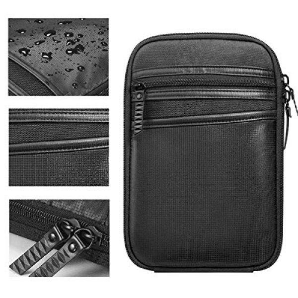 LIVIQILY Pistol Case 3 LIVIQILY Concealed Carry Pistol Cases Outdoor Tactical Holster Fanny Pack Gun Pouch Waist Pocket Hip Belt Bag Wallet for Handgun