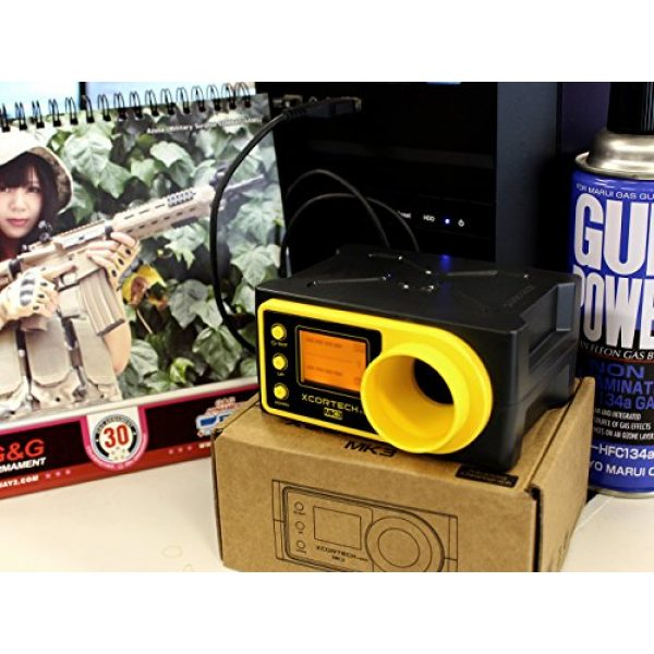 X3200 MK3 Airsoft Gun Chronograph 4 X3200 MK3 Xcortech Chronograph Airsoft BB Shooting Speed Tester