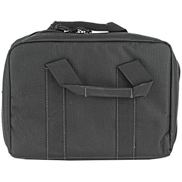 "Glock Pistol Case 2 Glock Perfection OEM Double Pistol Range Bag Case 12.5""x 9.5""x 4.5"""