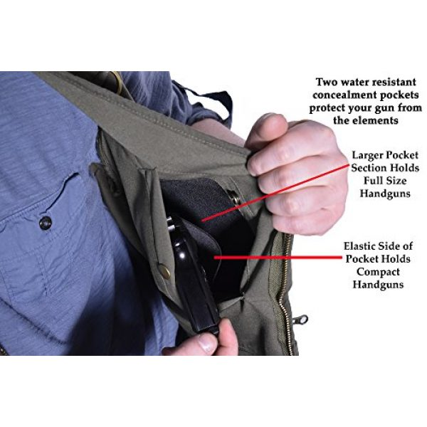 BLUE STONE SAFETY Airsoft Tactical Vest 7 Blue Stone Safety YKK Zippers Throughout Entire Concealment Vest