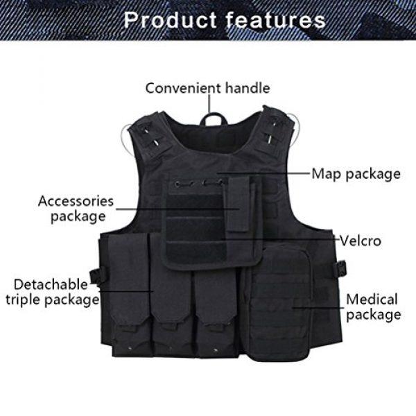 Zhuhaitf Airsoft Tactical Vest 2 Zhuhaitf Hunting Tactical Airsoft Oxford Molle Vest Tactical Gear Adjustable Vest