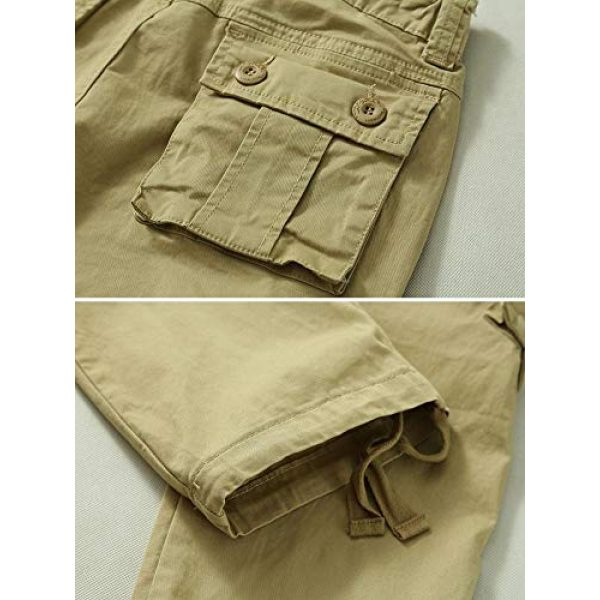 TRGPSG Tactical Pant 5 Women's Casual Ripstop Military Work Trousers, Multi-Pocket Outdoor Army Combat Cargo Pants