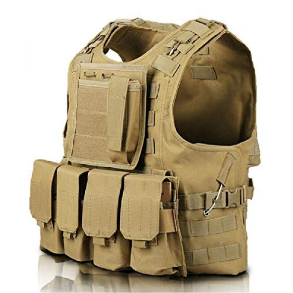 BGJ Airsoft Tactical Vest 3 BGJ Tactical Vest Military Airsoft Assault Molle Vest Outdoor Clothing Hunting Equipment Camouflage Vest Combat Vest