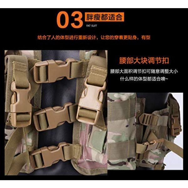 HAOYUN Airsoft Tactical Vest 6 HAOYUN CQB Modular Protective Tactical Vest 97 Seal Water Bag Tactical Vest