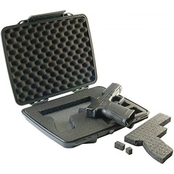 Pelican Pistol Case 3 Pistol Case | Pelican P1075 Slim Profile Pistol Case (Black)