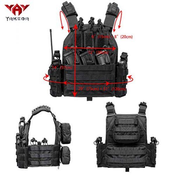 vAv YAKEDA Airsoft Tactical Vest 2 vAv YAKEDA Outdoor Tactical Military Vest Airsoft Vest for Men