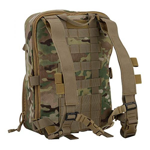 DETECH Airsoft Tactical Vest 5 DETECH Tactical Vest Airsoft Ammo Chest Rig Magazine Carrier with Molle FlatPack Assault Pack Backpack