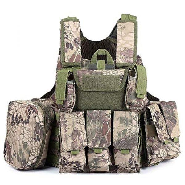 SHENGCUNZHE Airsoft Tactical Vest 2 SHENGCUNZHE Outdoor Tactical Vest