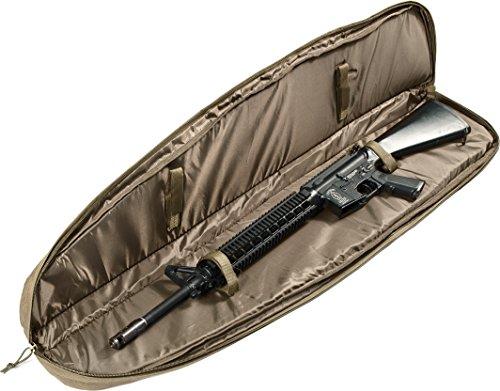 "Loaded Gear Rifle Case 4 Loaded Gear 48"" Tactical Rifle Soft Rifle Gun Bag Case, Brown (Brown)"