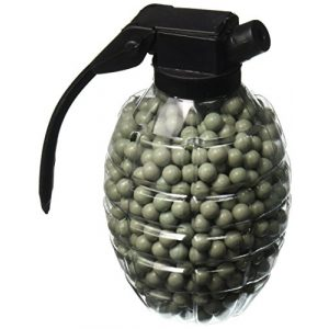 U.S. Marines Airsoft BB Loader 1 U.S. Marines Grenade Style Airsoft BB Loaders (Pack of 2), Green/Brown