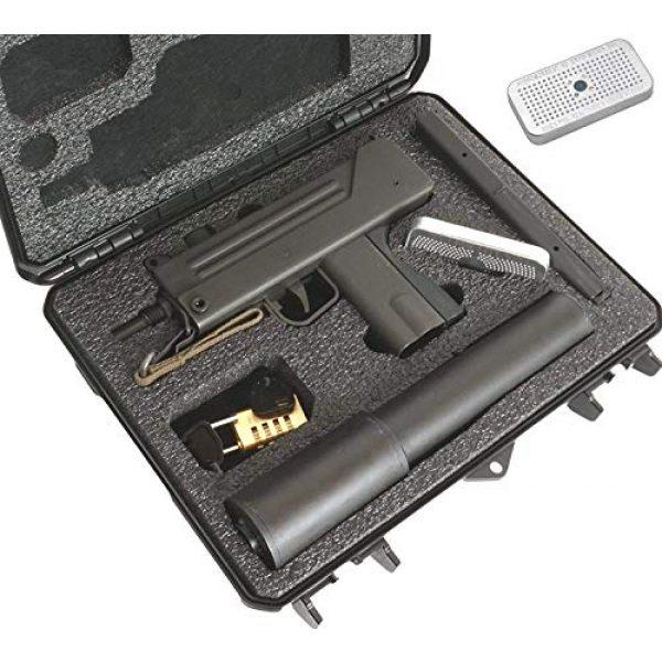 Case Club Pistol Case 1 Case Club MAC-10 Pre-Cut Waterproof Case with Silica Gel to Help Prevent Gun Rust