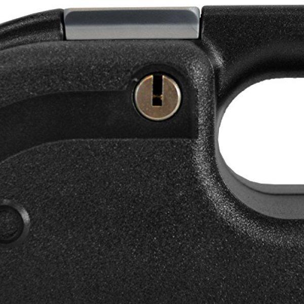 Glock Pistol Case 3 Glock Single Handgun Lockable Hard Black Pistol Case