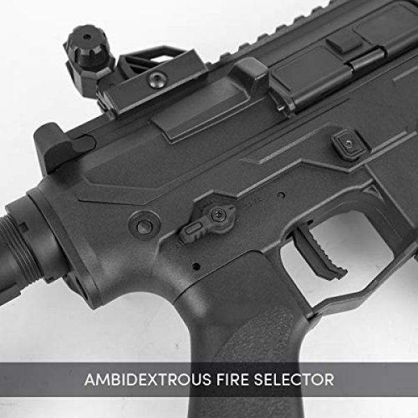 Valken Airsoft Rifle 3 Valken ASL Series M4 Airsoft Rifle AEG 6mm Rifle - MOD-M (Black)