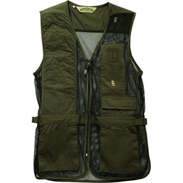 Bob-Allen Airsoft Tactical Vest 1 Bob-Allen Shooting Vest, Right Handed, Sage, 4X