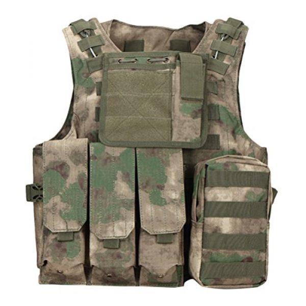 Zhuhaitf Airsoft Tactical Vest 1 Zhuhaitf Hunting Tactical Airsoft Oxford Molle Vest Tactical Gear Adjustable Vest